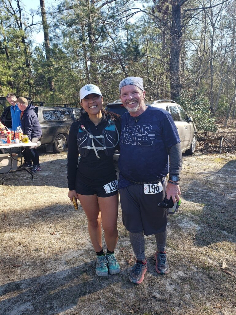 2019 NC Fatass 50k Finish with George Wannop